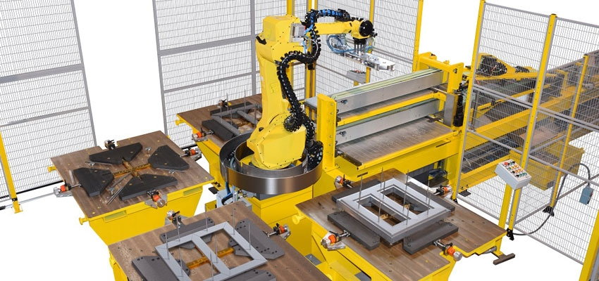 Automatic core manufacturing