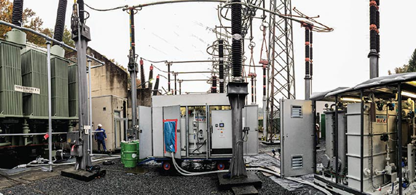 MAXEI, your partner 4.0 to optimise transformer oil treatment