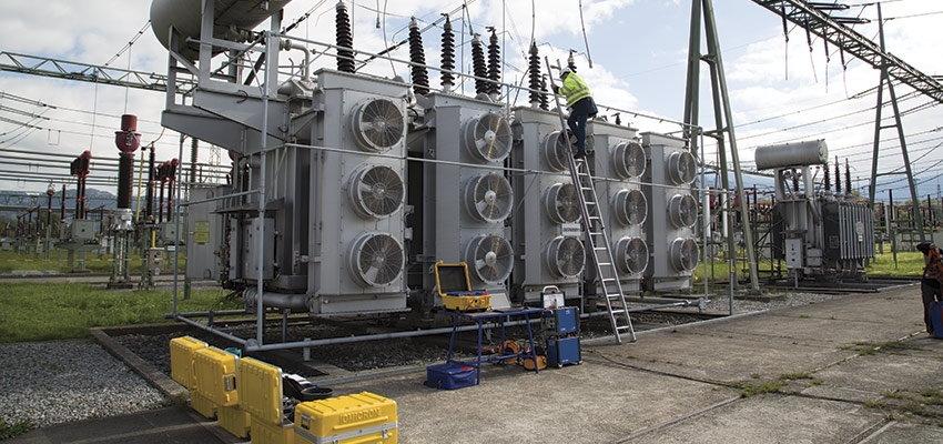 Smart maintenance of power transformers