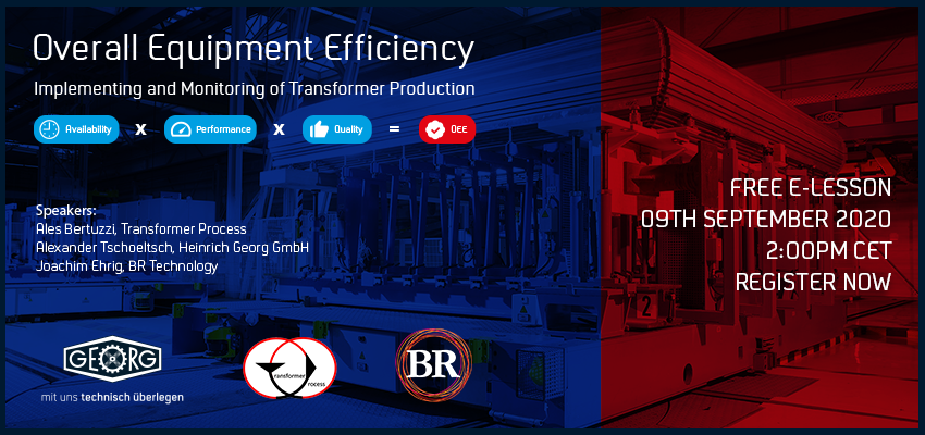 Implementing and Monitoring Overall Equipment Efficiency of Transformers