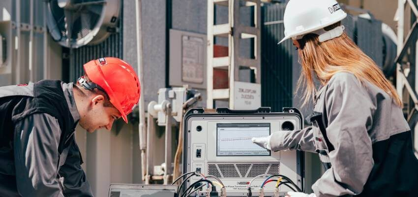 Importance of using high test voltage for transformer turns ratio test