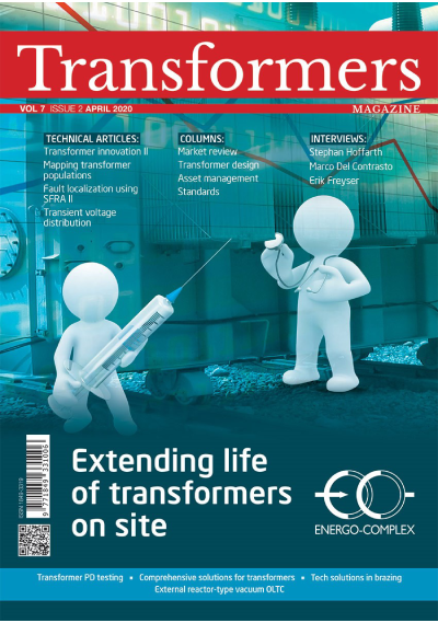 Cover image - April 2020 edition