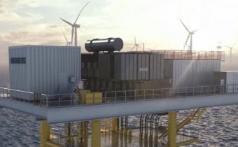 offshore substation platform