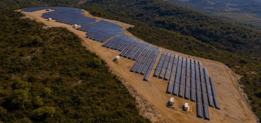 solar power plant Vis