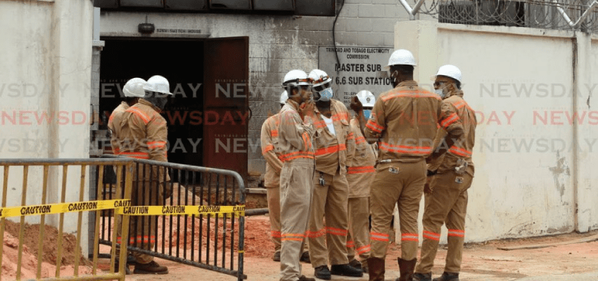 substation fire